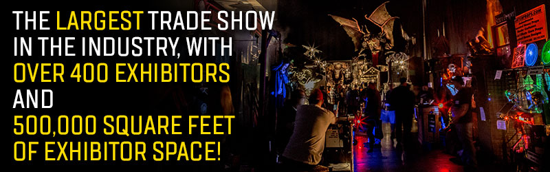 Transworld 2020 Halloween And Haunt Show TransWorld's Halloween & Attractions Show